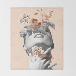 Inner beauty 4 Throw Blanket