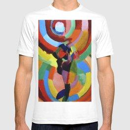 Robe Simultanee (Female Figure) by Robert Delaunay T-shirt