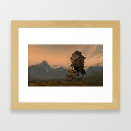The Reality of Gaming  Framed Art Print
