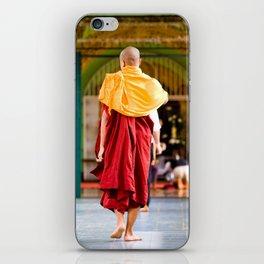 Monaci, Myanmar iPhone Skin