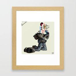 Modernite #7 Framed Art Print