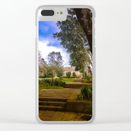 Afuera Del Museo I Clear iPhone Case
