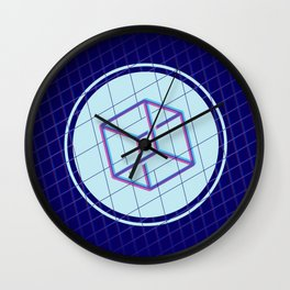 Geomeric Playgrond 01 Wall Clock