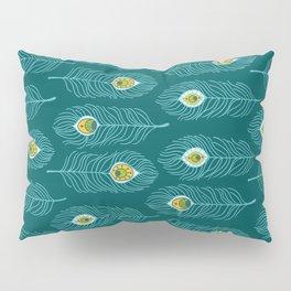 Peacock Love Pillow Sham