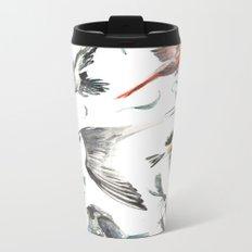 Birdwatching Metal Travel Mug