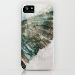 An angel lost its wing iPhone Case