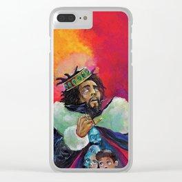 J cole Clear iPhone Case