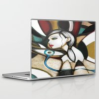 psychedelic Laptop & iPad Skins featuring Psychedelic by Müge Başak