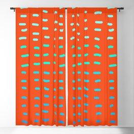Ultra Orange Bang  Blackout Curtain