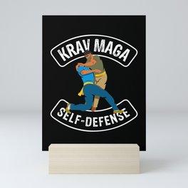 Krav Maga self-defense martial arts Mini Art Print