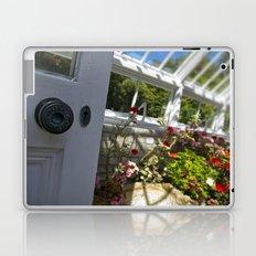 Greenhouse door Laptop & iPad Skin