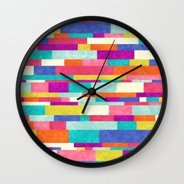 Happy Go Lucky Wall Clock