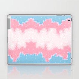Trans Pride Flag Galaxy Laptop & iPad Skin
