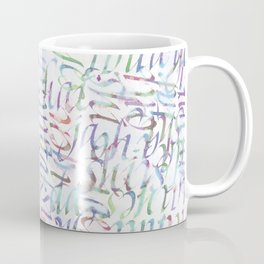 Calligraphy Yes Coffee Mug