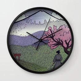 A Gentle Breeze Wall Clock