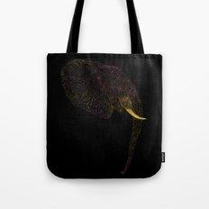 Elephant Color Tote Bag