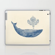 The Damask Whale  Laptop & iPad Skin