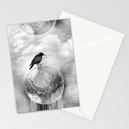 It's a Crow's World Stationery Cards