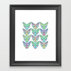 Gatos Framed Art Print