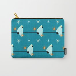 Atomic Birds On A Wire Carry-All Pouch