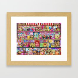 The Sweet Shoppe Framed Art Print
