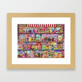 The Sweet Shoppe Framed Art Print