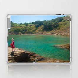 Contemplating the lagoon Laptop & iPad Skin