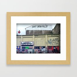 Fickt euch allee Framed Art Print