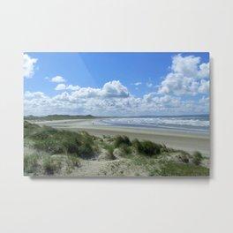 Enniscrone Sandy Beach Metal Print