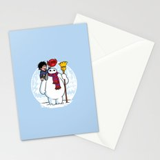 Inflatable Snowman Stationery Cards