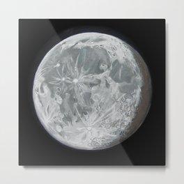 Moon Portrait 2 Metal Print