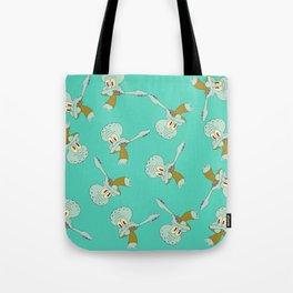 Squidward Dab Tote Bag