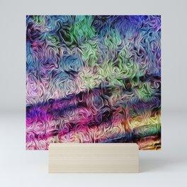 Fusion Of Pastel Mini Art Print