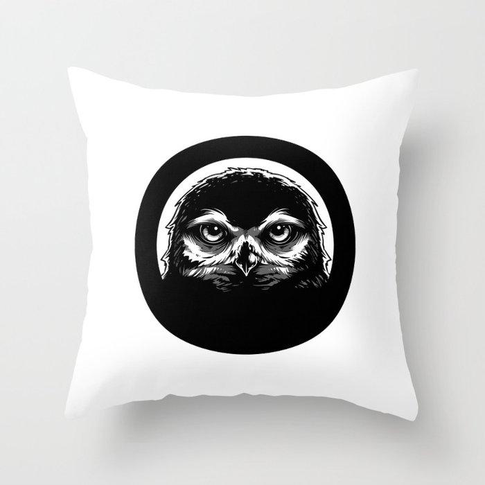 meh.ro logo Throw Pillow