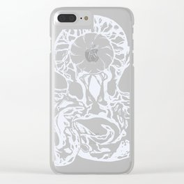 Octopus Aang Clear iPhone Case