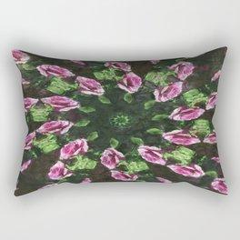 Rosas Moradas 2 Kaleidoscope 5 Rectangular Pillow