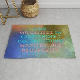 I Am Successful In Everything I Do, Including Manifesting Prosperity Rug