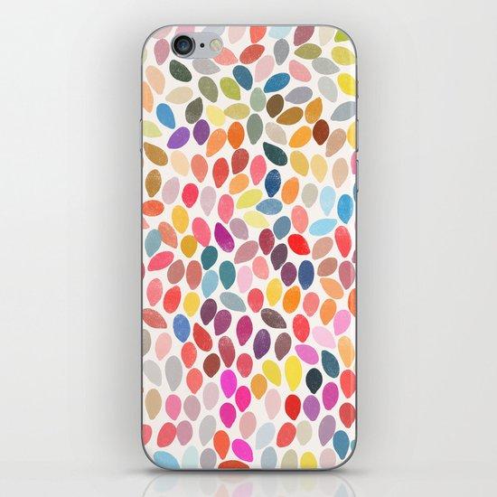 rain 3 sq iPhone & iPod Skin