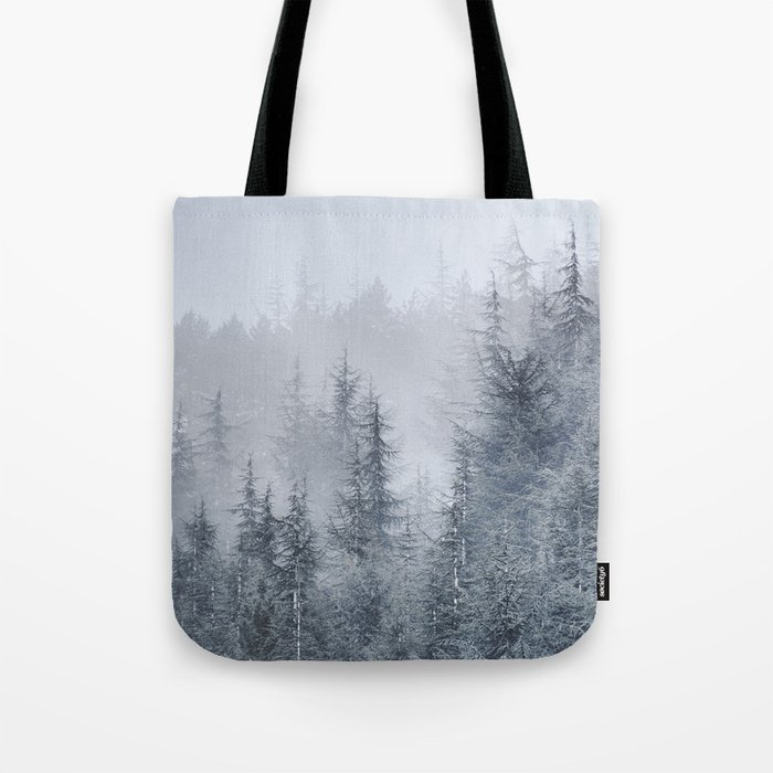 Early moorning... Into the woods Tote Bag
