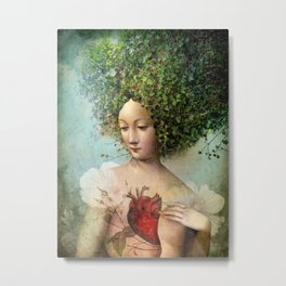 The Day I lost my Heart Metal Print