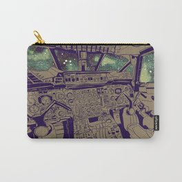 SpaceJet (Color) Carry-All Pouch