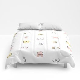 more butts and boobies Comforters