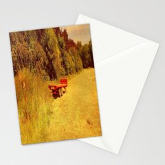 Summer Mowing. Stationery Cards