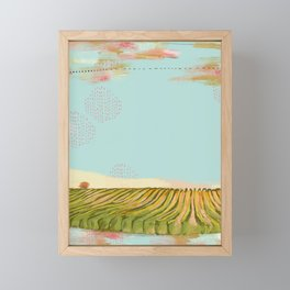 VINEYARD Framed Mini Art Print