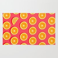 fruit Area & Throw Rugs featuring  FRUIT by mark ashkenazi