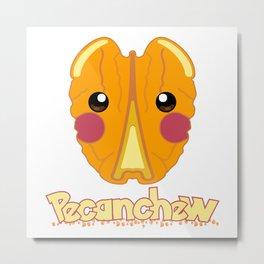 Pecanchew Metal Print