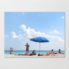 Beachin' Canvas Print