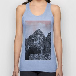 Part of Angkor Wat with candy Unisex Tank Top