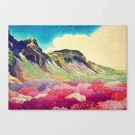 Walk towards Manayama Canvas Print