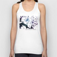 cowboy bebop Tank Tops featuring Space Cowboy by feimyconcepts05